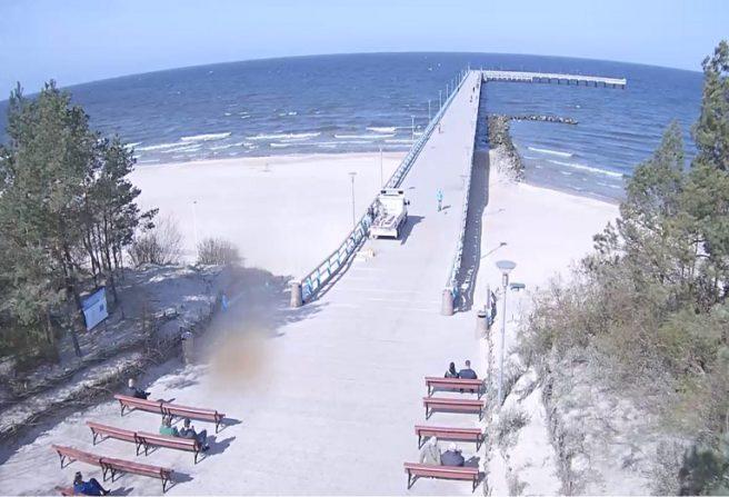 Palangos tiltas tiesiogiai www.Lietuvoskameros.lt