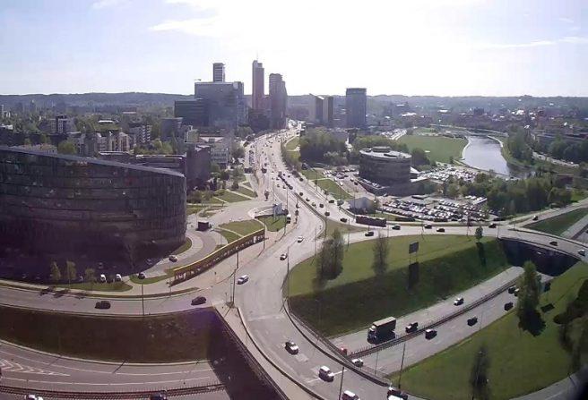 Vilniaus panorama tiesiogiai www.Lietuvoskameros.lt